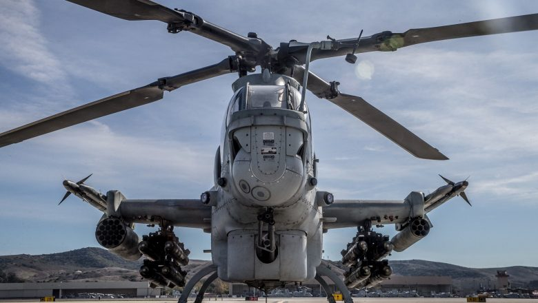 U.S. Marine Corps releases video showing AH-1Z's air-to-air missile capability