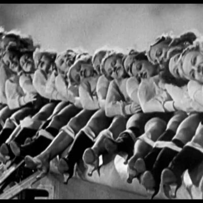 Girls Dancing on Planes (Vintage footage)
