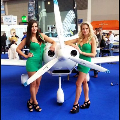 Planes and girls! Special moments AERO Friedrichshafen 2009-2013