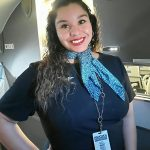Hello, just your friendly Flight Attendant Sarah!