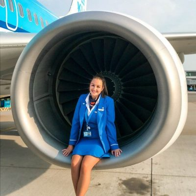 Het leven van een stewardess bij KLM